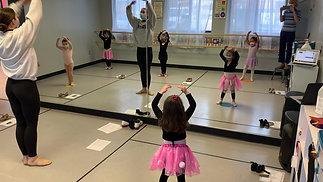 "Monday - Preschool Ballet - ""Beautiful Morning"""