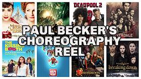 Paul Becker's Choreography Reel