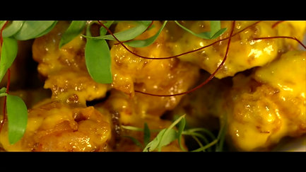 Crispy Shrimp Chicharrones