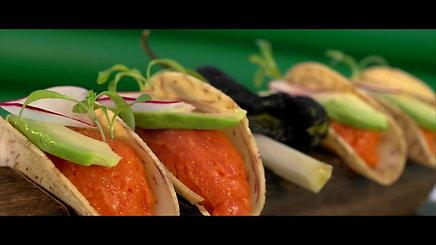 Cuban Spicy Tuna Tartar Tacos