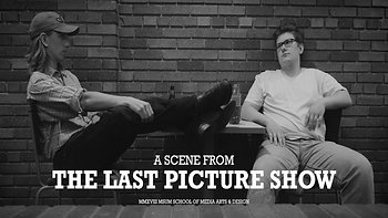 "A Scene From ""The Last Picture Show"" (2018)"