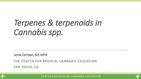 Terpenes and terpenoids in Cannabis