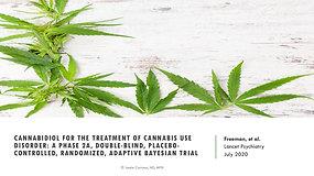 Can CBD treat addiction to marijuana?