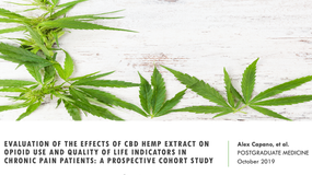 Can a CBD-rich hemp extract reduce pain and opioid usage?