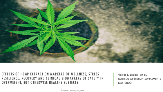 Does CBD improve sleep and increase stress resilience?