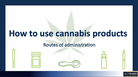 How to use cannabis products