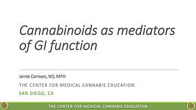 The Endocannabinoid System and Gastroenterological Function