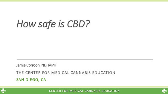 How safe is CBD? Depends on the dose.