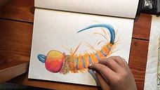 Orange Jigg Nymph