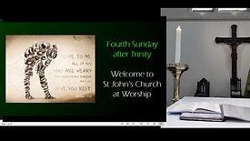 Sunday Mass - 4th Sunday after Trinity