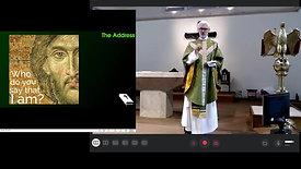 Sunday Mass - 23 Aug - 11th after Trinity