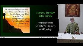 Sunday Mass - 2nd Sunday after Trinity