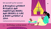 Girlfridayz online store - The value of reading business and marketing eBooks