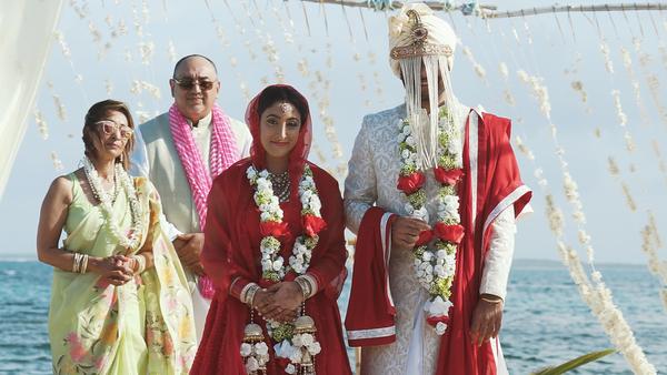 Aashima & Sumeet Baarat and Ceremony
