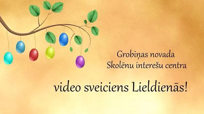 Video sveiciens Lieldienās
