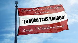 Video sveiciens Latvijai dzimšanas dienā