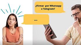 Firmar por Whatsapp