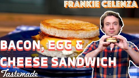 TASTEMADE - Bacon, Egg & Cheese Sandwich