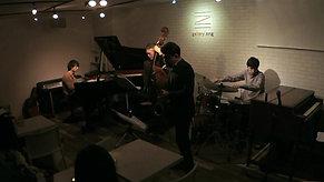 <フル動画>河村英樹 New Quartet w/永田有吾&井上幸祐&森下啓  @ gallery zing