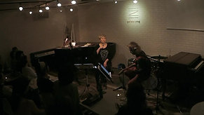 <ミニライブ>ギラ・ジルカVocal Workshop LIVE w/竹中俊二 <Workshop後のミニライブ動画> @ gallery zing