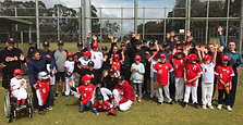 Check this out! This video sums up what Challenger Baseball is all about. Everyone is having a go and showing us how awesome they are!! All their skills were on display today - great batting, base running, fielding and to top it off a magical cart wh