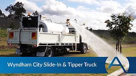 Wyndham City Slide-In & Tipper Truck