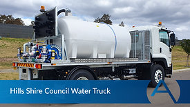 Hills Shire Council Water Truck