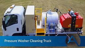 Pressure Washer Truck