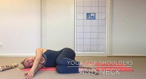 Yoga for neck and shoulders 1