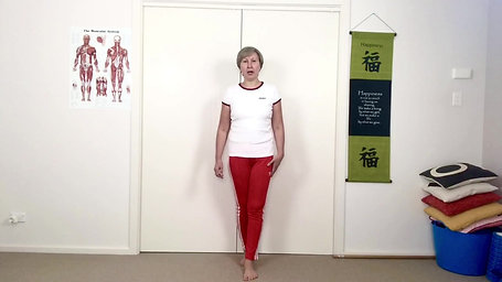 Balance exer, Tandem stance