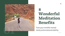 8 meditation benefits