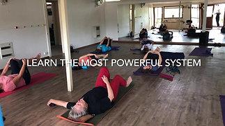 Yoga class with Elena