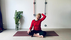 Yoga for neck, face and shoulders