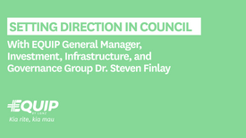 Setting Direction in Council - with Dr. Steven Finlay