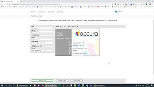 AccuraOnline B2C > MIS integration
