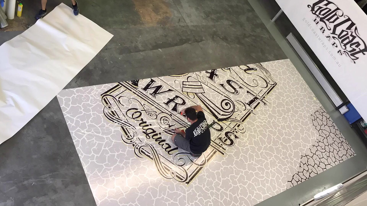 ARCHITECTURAL FLOOR WRAP