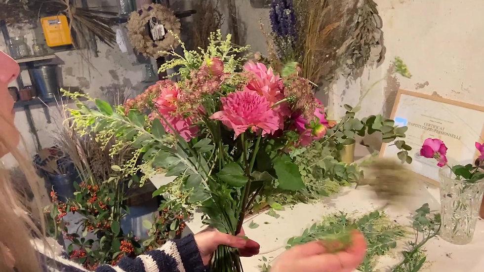 Bouquet du mois de novembre 2020