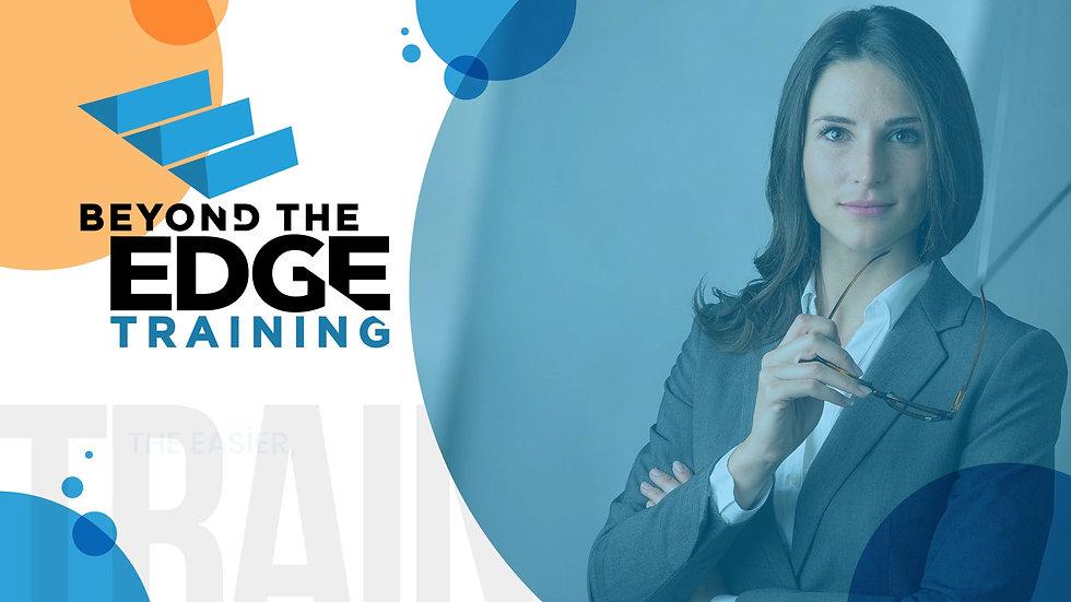 Beyond the Edge sales Training