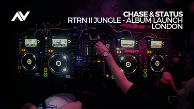 Chase & Status - RTRN II JUNGLE album launch