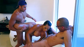 """RAMON THREESOME WITH GALI DIVA"""