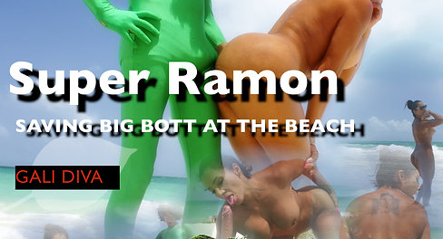 SUPER RAMON AT THE BEACH