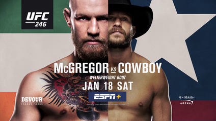 UFC 246: McGregor vs Cowboy feature