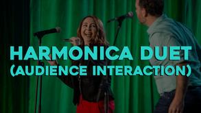 Bronkar Lee | Harmonica Duet (Audience Interaction)