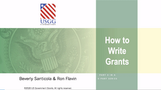 USGG How to Write Grants