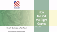 USGG How to Find The Right Grants