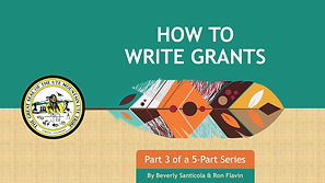 UMUT How to Write Grants