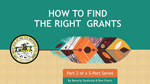 UMUT How to Find the Right Grant