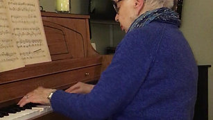 Mary Tannehill Piano Playing Video