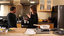 Nigella Lawson takes to the kitchen