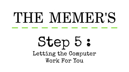 Memer's Step 5